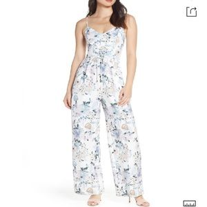 Ever New Spring Time Tulip Jumpsuit Size 4
